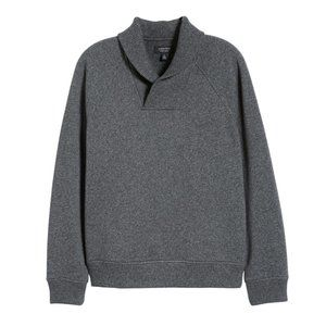 Nordstrom Men's Shawl Collar Fleece Sweatshirt XXL